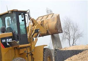 إزالة 46 حالة تعدٍ على الأراضي الزراعية بالمنيا