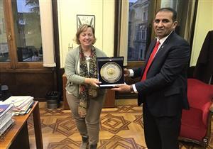 رئيس جامعة أسوان يزور المجلس الأعلى للبحث العلمي بإسبانيا