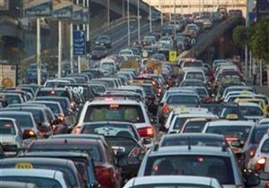تعطل حركة المرور بطريق بنها - المنصورة بسبب مصرع شاب