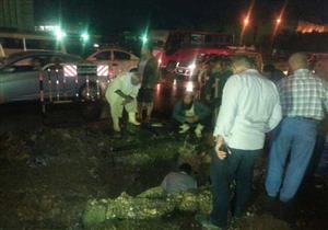 اللواء كمال الدالي: جاري إصلاح كسر ماسورة مياه ميدان الجيزة