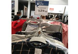 """بالصور.. تعرف على أسعار الملابس في """"كايرو فيستيفال مول"""" خلال """"بلاك فرايداي"""""""
