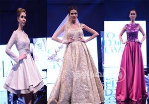بالصور.. المصممة ليلى المغربي تطلق مجموعتها للأزياء في مهرجان cairo wedding festival