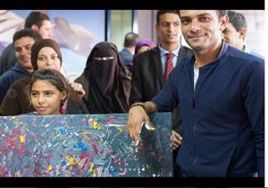 """آسر ياسين يواصل استعداداته لـ""""الصعود إلى الهاوية"""""""