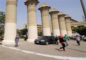 المستشار الثقافي الأردني يزور جامعة عين شمس