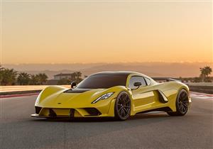 """بالصور.. """"هينيسي"""" تقدم أسرع سيارة في العالم بـ28 مليون جنيه"""