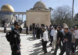مستوطنون يقتحمون للمسجد الأقصى وسط حراسة مشددة من قوات الاحتلال