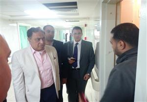 وزير الصحة يتفقد أعمال التطوير والخدمات الطبية بمستشفى الهلال