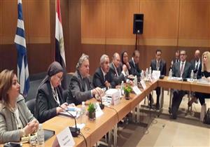 وزير الصناعة يبحث مع 30 شركة تعزيز الاستثمارات اليونانية في مصر