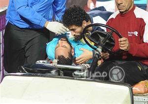 عدسة مصراوي ترصد إصابة جنش بكسر مضاعف في الذراع