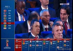 رد فعل كوبر بعد وقوع مصر مع روسيا وأوروجواي في كأس العالم