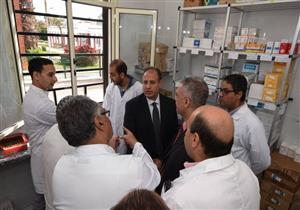 بالصور- افتتاح مبنى العيادات الجديد بمستشفى الحميات بالإسكندرية