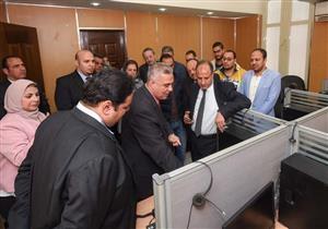 """لتسهيل حجز العناية.. افتتاح مركز النداء الآلي بـ """"حميات الإسكندرية"""" (صور)"""
