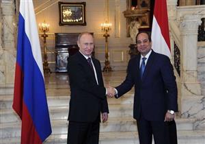 بوتين: مستعدون لاستئناف الطيران مع القاهرة مرة أخرى