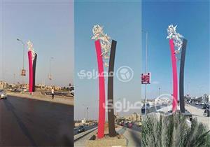 """مصمم مجسم """"مصر الحرة"""": عملته تطوعا.. واستوحيت الفكرة من روح الثورة"""