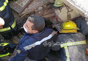 الصحة: وفاة وإصابة 6 مواطنين في انهيار منزلين بروض الفرج