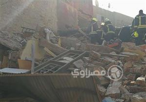 انهيار 3 منازل بروض الفرج.. والأمن: نبحث عن مفقودين