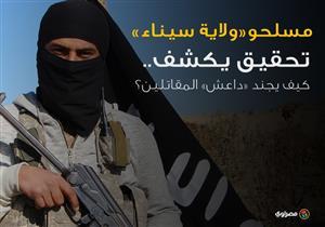 """مسلحو """"ولاية سيناء"""".. تحقيق يكشف كيف يجنِّد """"داعش"""" المقاتلين؟"""