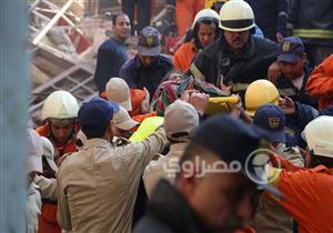 محافظ القاهرة: تشكيل لجنة لدراسة أسباب انهيار عقار روض الفرج