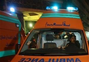 مصرع شخص وإصابة 5 آخرين في حادث تصادم بالجيزة