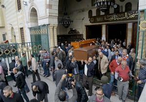 """تشييع جنازة الإعلامية سامية صادق في غياب زملاء """"ماسبيرو"""" (صور)"""