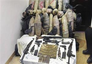 ضبط 18 قطعة سلاح ناري غير مرخص وتاجري مواد مخدرة بقنا
