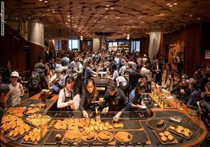 """بالصور- """"أرض العجائب"""" .. أكبر مقهى في العالم"""