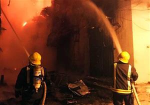 حريق يلتهم ورشة خراطة في المنوفية دون إصابات بشرية