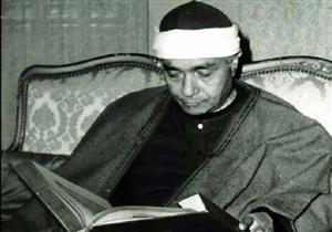 في ذكرى وفاته .. صور نادرة لملك المقامات القرآنية الشيخ مصطفى إسماعيل