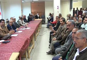 """مؤتمر معلمي المنيا: """"السيسي"""" يستكمل مشوار """"عبد الناصر"""" - صور"""