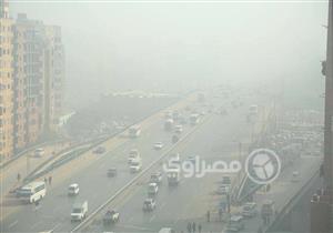 بالصور- حوادث وشلل مروري بسبب الشبورة على الطرق بالقاهرة والمحافظات