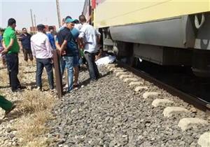 مصرع شاب دهسه قطار في المنيا