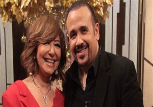 سهرة غنائية لهشام عباس مع لميس الحديدي في ليلة رأس السنة