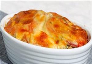 طريقة عمل بيض مخفوق بالجبنة والكريمة