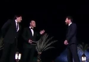 """عمرو أديب لميسي: """"لازم تأكل ملوخية قبل ما تمشي من مصر بس ما تلعبش كورة"""""""