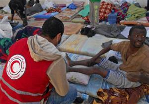 اختناق 13 مهاجرا في ليبيا