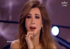 """نانسي عجرم تنهار من البكاء خلال الحلقة الأخيرة من """"Arab Idol"""""""