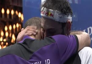"""بالفيديو- نوبة بكاء للشوربجي بعد الفوز على شقيقه بـ""""ويندي سيتي"""""""