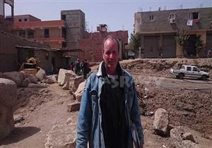 """رئيس البعثة الألمانية لمصراوي: لم يكن أمامنا سوى """"اللودر"""".. ولا يوجد اكتشاف يخص رمسيس الثاني"""