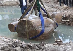 الآثار: نقل تمثال رمسيس الثاني إلى المتحف المصري الأربعاء المقبل