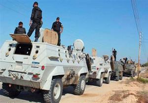معركة مسلحة في مدخل مدينة العريش.. والداخلية تعلن استشهاد ضابط ومجند