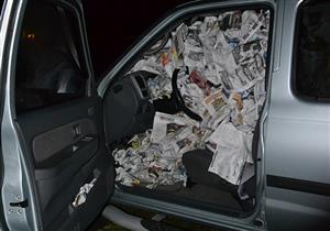 """بعد الشتاء.. """"الصحف"""" سلاحك لمحاربة الرطوبة بمقصورة السيارة"""