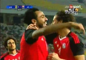 الهدف الأول لمصر في شباك توجو