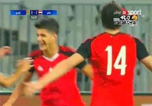 الشيخ يسجل في أول ظهور الهدف الثاني لمصر أمام توجو