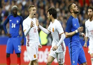 أهداف (فرنسا 0 - إسبانيا 2) مباراة ودية