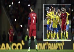 أهداف (البرتغال 2 - السويد 3) مباراة ودية
