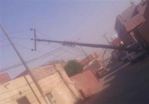 """""""أمن المنيا"""": تلفيات أعمدة كهرباء """"بني أحمد"""" ليست إرهابًا بل """"فساد"""""""