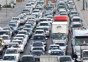 مرور القاهرة يمنع سير الأتوبيسات كبيرة الحجم أعلى كوبري الفاروق بالمعادي