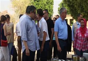 وزير الآثار في رحلة نيلية متجه الي«الكرنك»