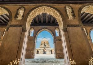 بالصور: مآذن وأساطين.. مسجد أحمد بن طولون
