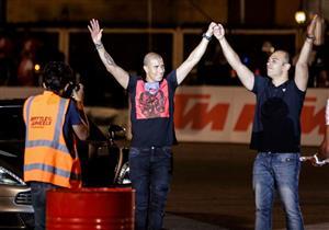 استون مارتن زيدان وRX7 رامي سري مفاجأة سباق ''Battle Of The Wheels''